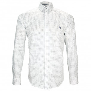 Chemise ImpriméeNEW WAVE Andrew Mac Allister L1AM1