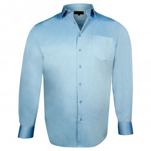 Chemise en popeline TRADITIONNELLE Doublissimo GT-Y1DB8