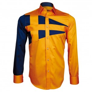 Chemise bicolore NAUTICA Andrew Mc Allister A3AM1