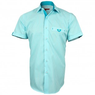Chemisette Vichy WIGHT Andrew Mc Allister AMC-1AM2