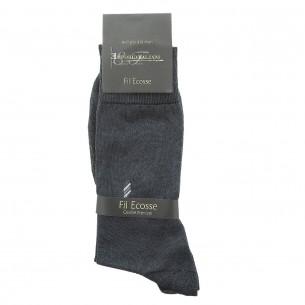 Chaussettes FIL D'ECOSSE Emporio balzani FIL-GREY