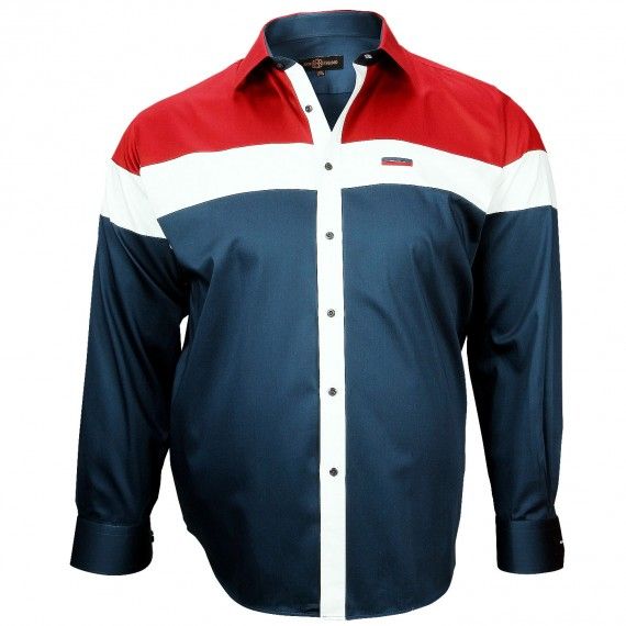 Chemise Mode YATCH CLUB Doublissimo GT-A2DB1
