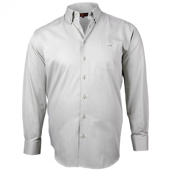 CHEMISE GRANDE TAILLE OXFORD Doublissimo GT-K5DB5