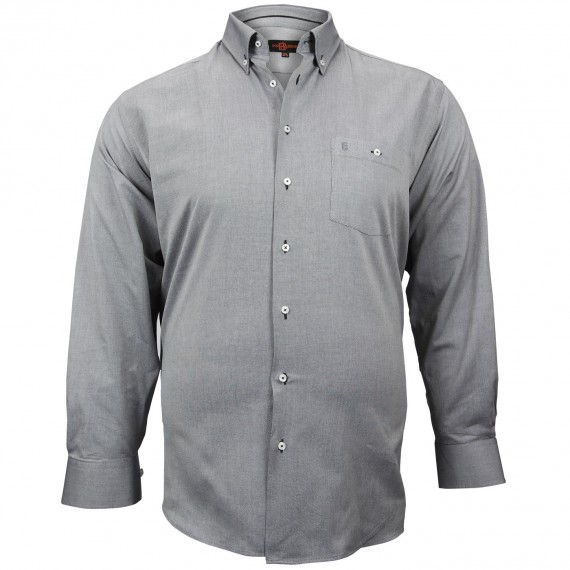 CHEMISE GRANDE TAILLE OXFORD Doublissimo GT-M1DB1