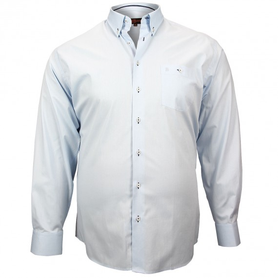 CHEMISE GRANDE TAILLE OXFORD Doublissimo GT-M1DB3