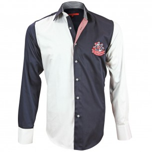 Chemise bicolore YATCH CLUB Andrew Mc Allister M4AM1