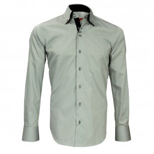 Chemise double col DUNDEE Andrew Mc Allister N19AM1