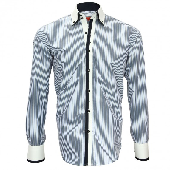 Chemise double col NORTHWOOD Andrew Mc Allister N5AM1