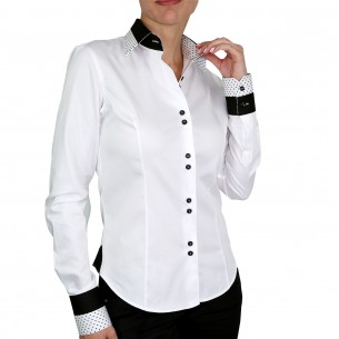 Chemise blanche SHELBY Andrew Mc Allister NF13AM1