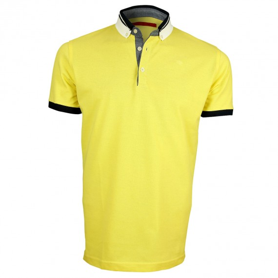 Polo col bicolore STRIPE Andrew Mc Allister Y4066-38