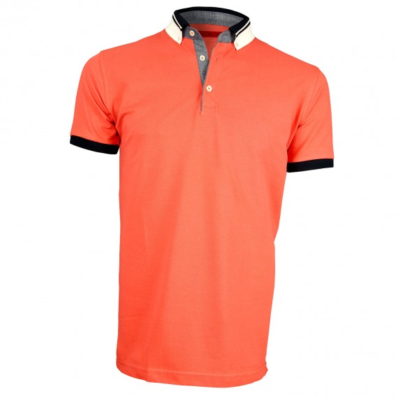 Polo col bicolore STRIPE Andrew Mc Allister Y4066-95