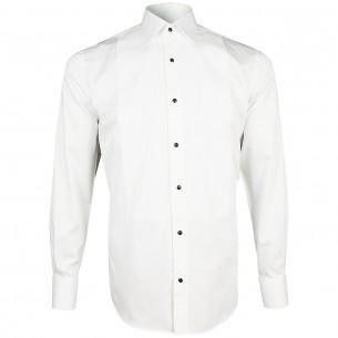 chemise habillée PLASTRON MQ Emporio balzani Y9EB1