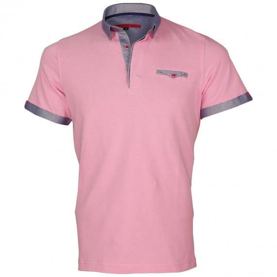Polo col italien OXFORD Andrew Mc Allister E-OXPR3
