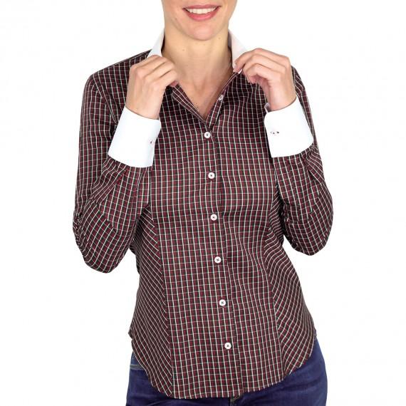 chemise à carreaux MEREDITH Andrew Mc Allister QF5AM3