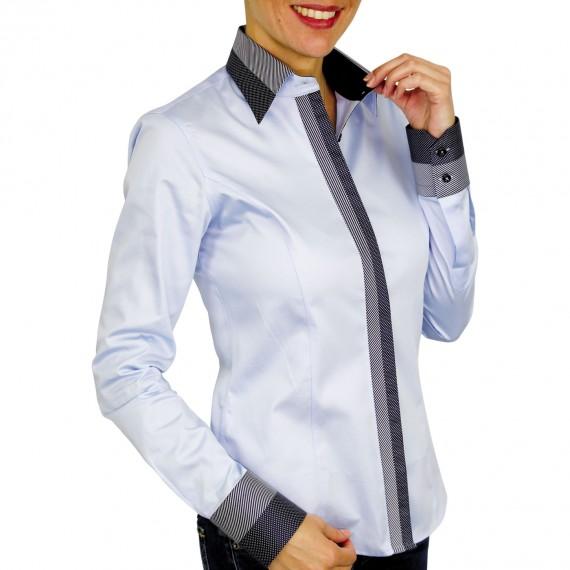 chemise bi-matiere ABBY Andrew Mc Allister QF10AM2