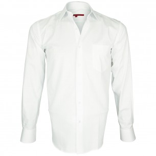 Chemise en popeline armurée BUSINESS Andrew Mc Allister Q7AM2