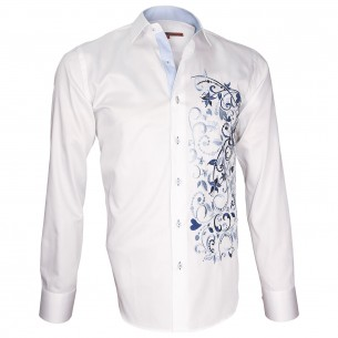 Chemise brodéeFLOWERTY Andrew Mc Allister T5AM1