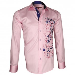 Chemise brodéeFLOWERTY Andrew Mc Allister T7AM1