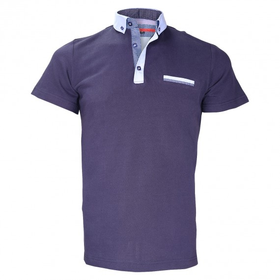 Polo col boutonnéeSTUDLAND Andrew Mc Allister TM5-NAVY