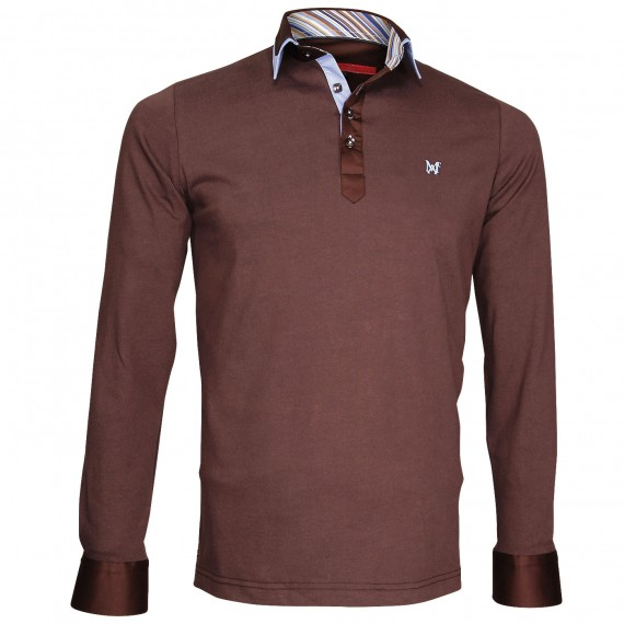 Polo Sweat double colPAXTON Andrew Mc Allister JML-COUD2