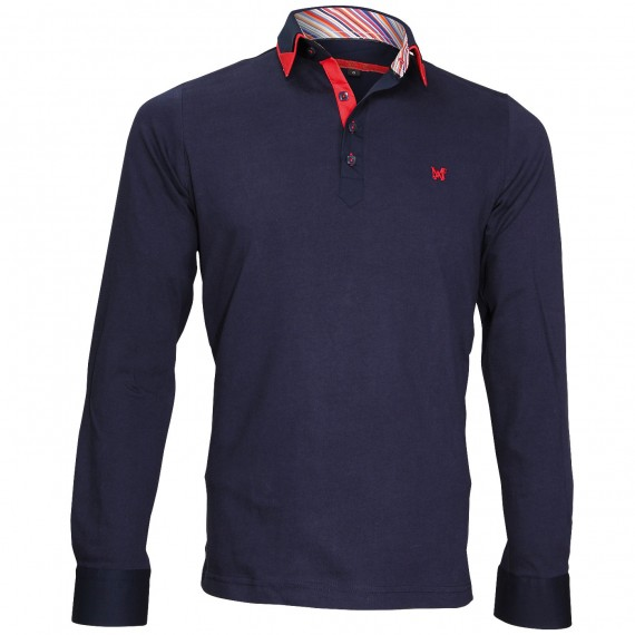 Polo Sweat double colPAXTON Andrew Mc Allister JML-COUD3