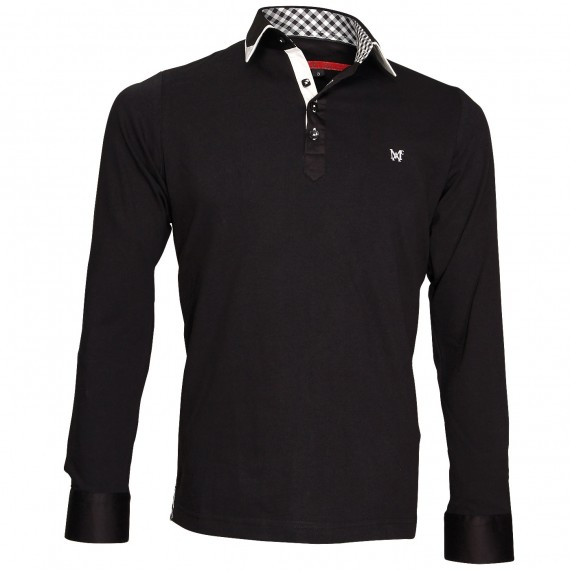 Polo Sweat double colPAXTON Andrew Mc Allister JML-COUD5