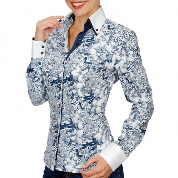 Chemise double colTIFFANY Andrew Mac Allister PF16AM3