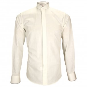Chemise col maoNORFOLK Andrew Mac Allister ZB23AM1