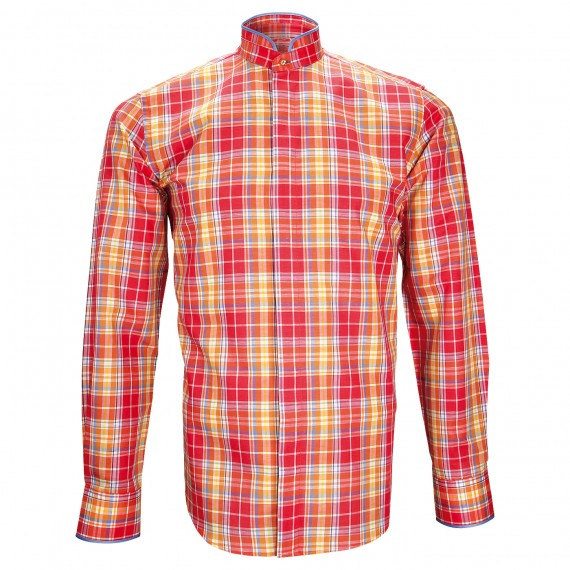 Chemise col maoWINCH Andrew Mac Allister ZB24AM1