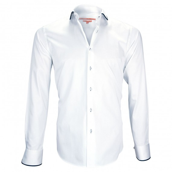 chemise col rondROUND TWO Andrew Mac Allister ZB25AM1