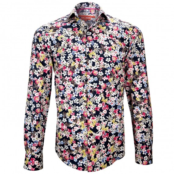 Chemise impriméeFLOWER Andrew Mac Allister ZB2AM1