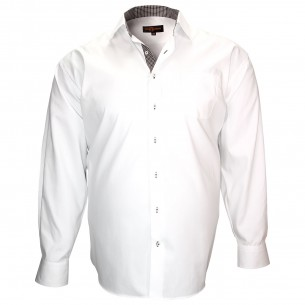 Chemise popelineROME Doublissimo GT-ZB16DB3