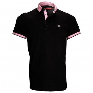 Polo piquéPIERCE Andrew Mac Allister ZB3-BLACK