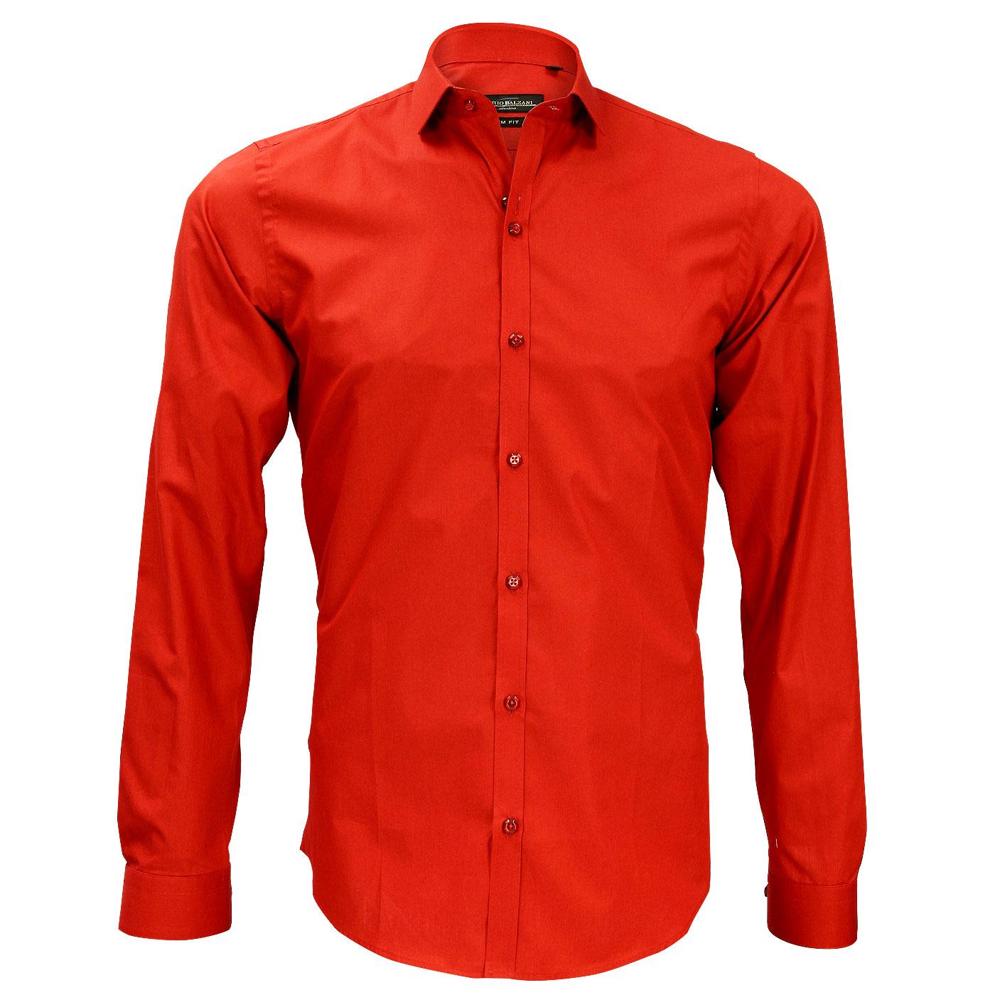 chemise rouge pour homme. Black Bedroom Furniture Sets. Home Design Ideas