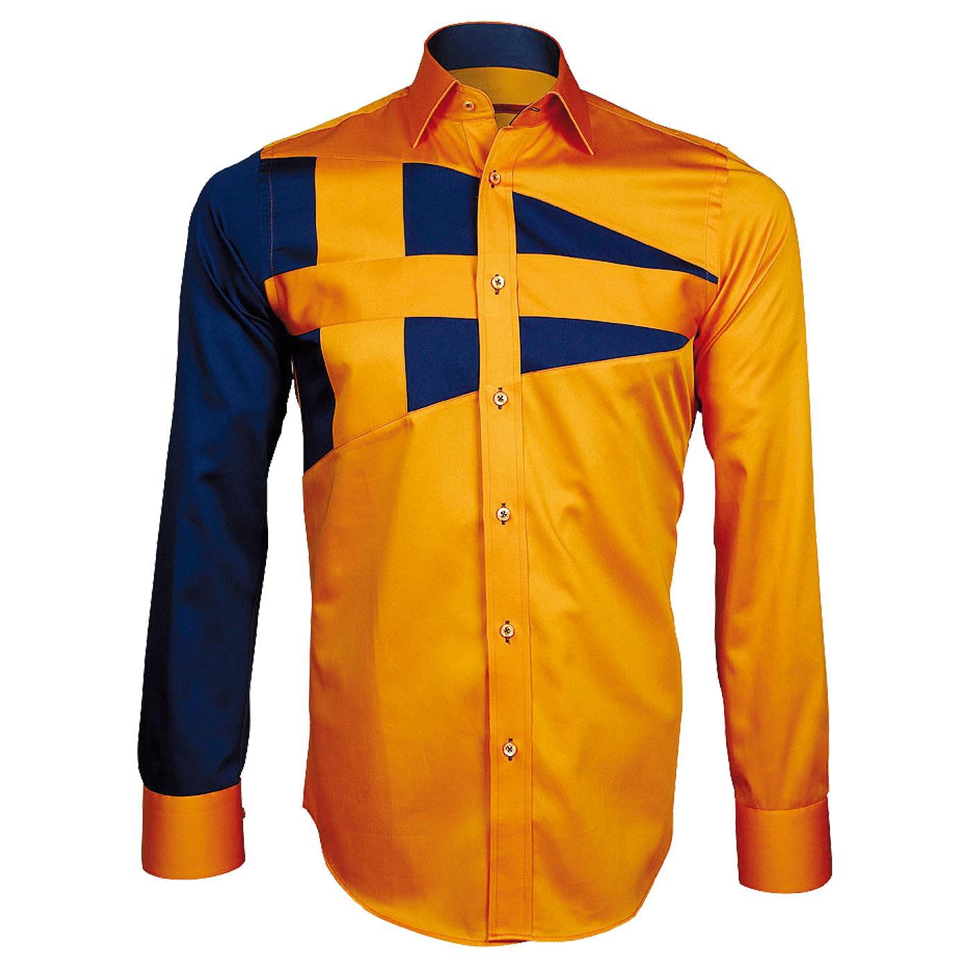 chemise orange pour homme 600 mod les sur chemiseweb. Black Bedroom Furniture Sets. Home Design Ideas