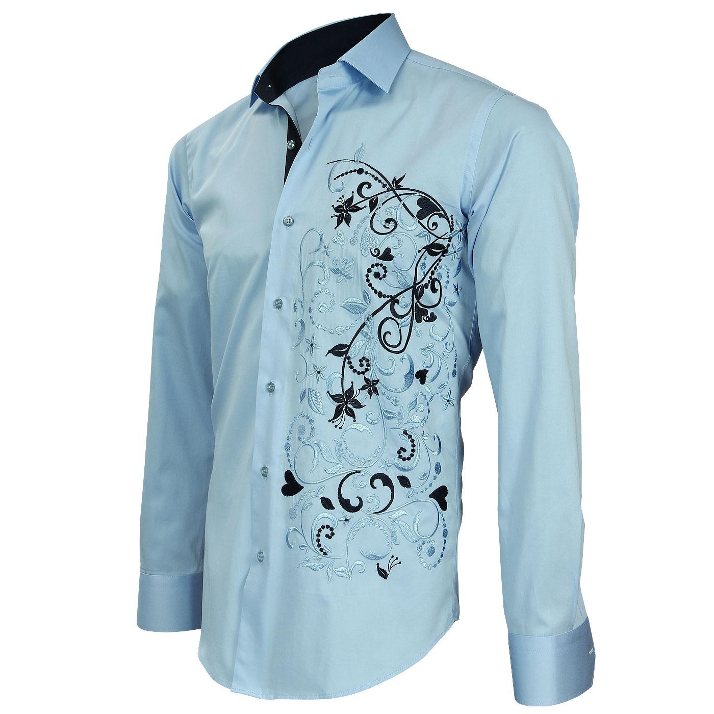 Chemise homme fashion cintr e 600 mod les sur chemiseweb - Chemise homme fashion coupe italienne cintree ...