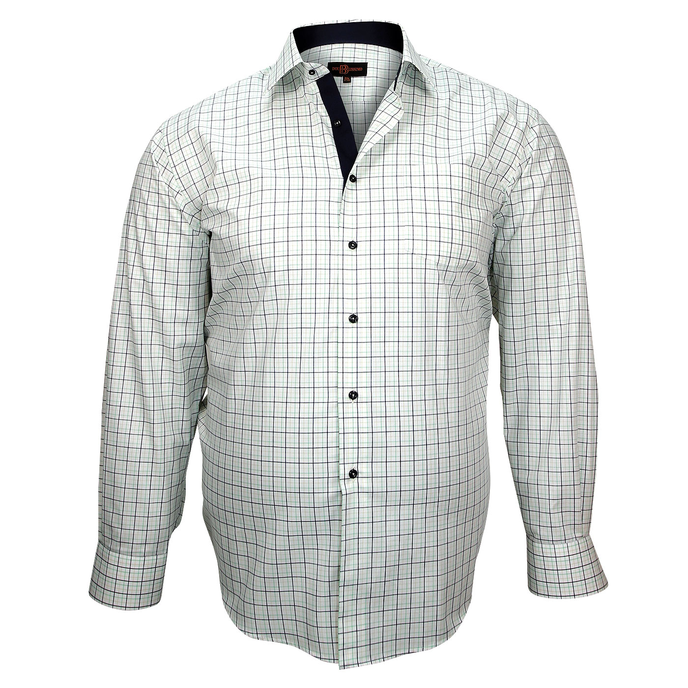 chemise grande taille casual