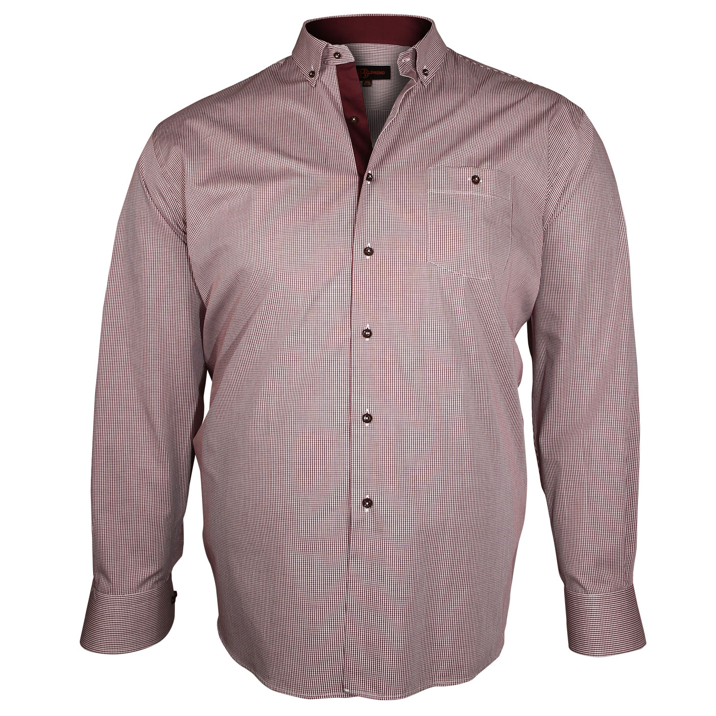 Chemise grande taille homme mode