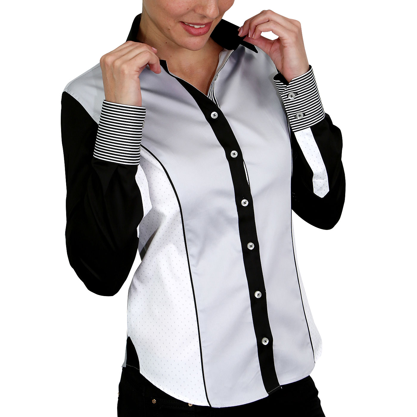 chemise femme patchwork