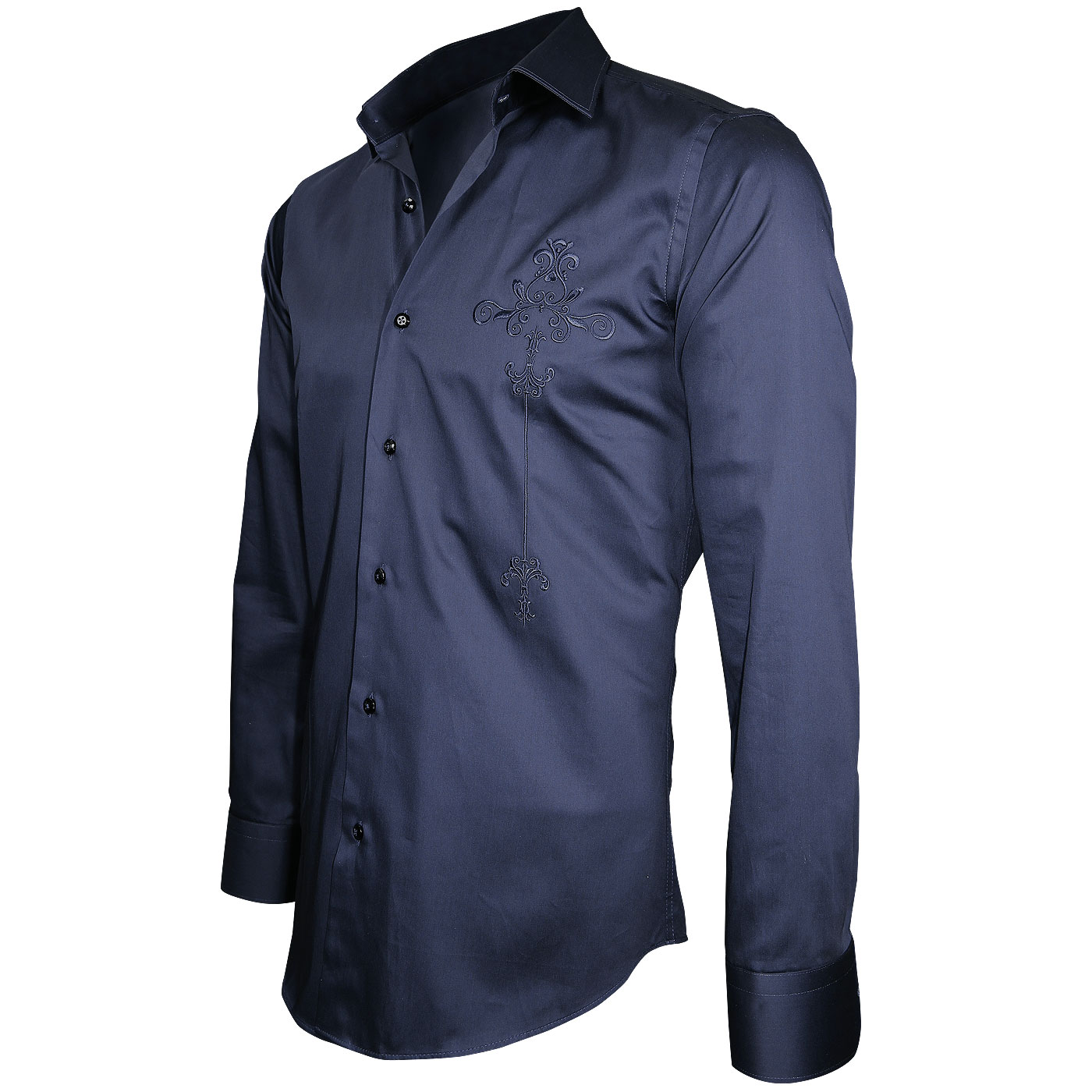 chemise brodee
