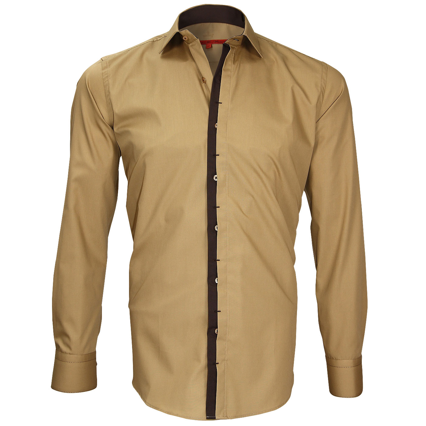 chemise ocre