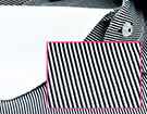 Exemple de chemise en tissu Serge ou Twill