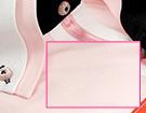 Exemple de chemise en tissu Uni